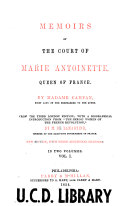 download ebook memoirs of the court of marie antoinette pdf epub