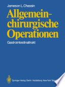 Allgemeinchirurgische Operationen