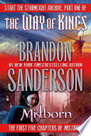 Brandon Sanderson Sampler book