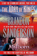 Brandon Sanderson Sampler : authors writing today, and tor books is...