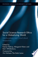 Social Science Research Ethics for a Globalizing World