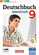 Deutschbuch 9. Schuljahr. Arbeitsheft mit Lösungen und Übungs-CD-ROM Gymnasium