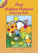 Book Easy Hidden Pictures Coloring Book