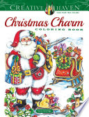 Creative Haven Christmas Charm Coloring Book