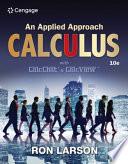 Calculus  An Applied Approach  Brief