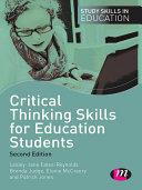 download ebook critical thinking skills for education students pdf epub