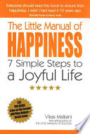 The Little Manual of Happiness Wealth Power Or Lies The Unchanging Quality Of