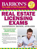 Barron s Real Estate Licensing Exams  9th Edition