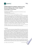 Todim Method For Multiple Attribute Group Decision Making Under 2 Tuple Linguistic Neutrosophic Environment