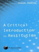 A Critical Introduction to Restitution