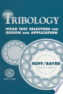 Tribology book