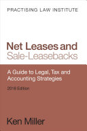 Net Leases and Sale Leasebacks