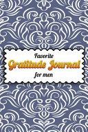 Favorite Gratitude Journal For Men