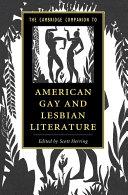 The Cambridge Companion To American Gay And Lesbian Literature book
