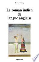 Le roman indien de langue anglaise