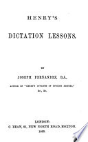 Ebook Henry's dictation lessons Epub N.A Apps Read Mobile