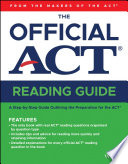 The Official Act Reading Guide