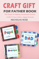 Craft Gift For Father Book
