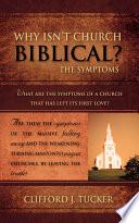 Why Isn T Church Biblical