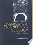 Foundations Of Engineering Geology Second Edition