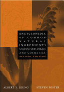 Encyclopedia of Common Natural Ingredients Encyclopedia Of Common Natural Ingredients