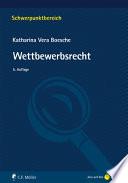 Boesche, Wettbewerbsrecht