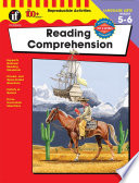 Reading Comprehension Grades 5 6 book