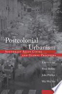 Postcolonial Urbanism Tht They Are Essentially An Elaboration Of