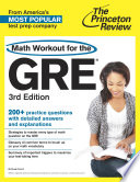 Math Workout for the GRE  3rd Edition
