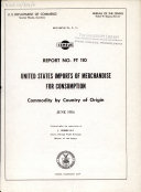 download ebook united states imports of merchandise for consumption pdf epub