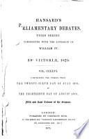 Ebook Hansard's Parliamentary Debates Epub Thomas Curson Hansard Apps Read Mobile