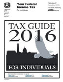 Tax Guide 2016 for Individuals