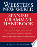 Webster s New World Spanish Grammar Handbook  1st Edition