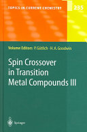 Spin Crossover in Transition Metal Compounds III