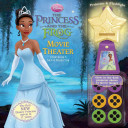 Disney Princess and the Frog Movie Theater Storybook and Movie Projector