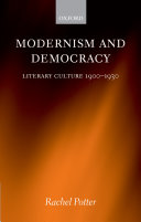 Modernism and democracy