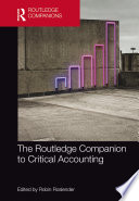 The Routledge Companion to Critical Accounting