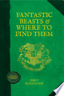 Fantastic Beasts & where to Find Them Book Cover