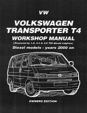 Best Volkswagen Transporter T4 Workshop Manual