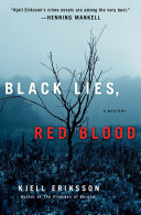 Black Lies, Red Blood Globe With His Ann Lindell Police Procedural Series