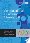Computational Quantum Chemistry II - The Group Theory Calculator
