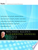 Michael Allen s 2009 E Learning Annual