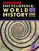 Berkshire Encyclopedia of World History, 2nd Edition, McNeil-Bently-Christian-Croiser, 2010