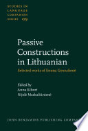 Passive Constructions in Lithuanian