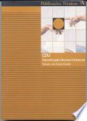 CDU Classifica    o decimal universal