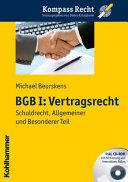 BGB I - Vertragsrecht