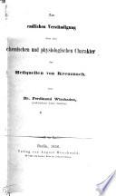 Zur endlichen Verständigung über den chemischen und physiologischen Charakter der Heilquellen von Kreuznach