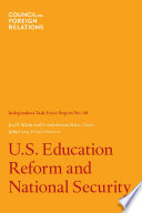 U S  Education Reform and National Security