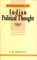 Foundations of Indian Political Thought