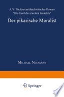 Der pikarische Moralist